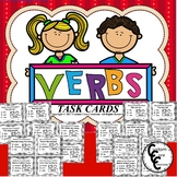 Verbs Task Cards (Parts of speech)