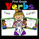 Verbs for First Grade Task Cards