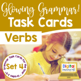 Verbs Task Cards I Distance Learning I Google Slides and Forms