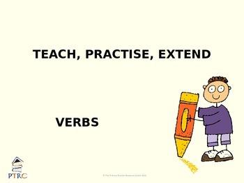 Verbs Teaching PowerPoint