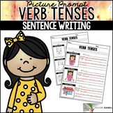 Verb Tenses Worksheets Sentence Building Writing Center