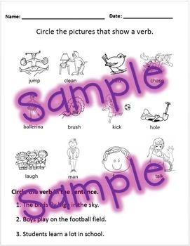 Verbs Test Handout