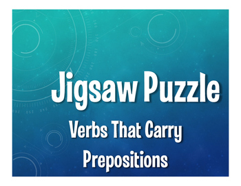 Spanish Verbs That Carry Prepositions Jigsaw Puzzle