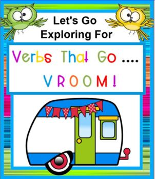 Verbs That Go Vroom SMARTBOARD