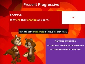 Verbs The Progressive Tenses Lesson Plan with Common Core Standards Aligned