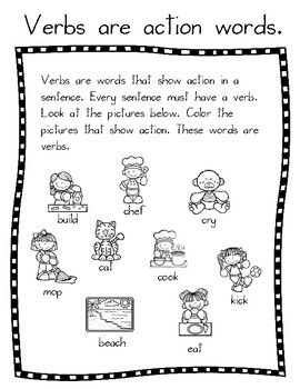 Verbs Tool Kit