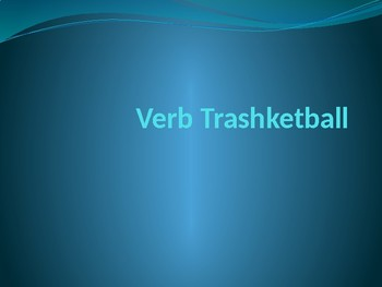 Verbs Trashketball