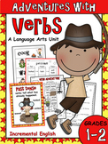 Action Verbs and Verb Tenses Unit - Adventures with Verbs