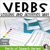 Verbs Unit - Parts of Speech Series