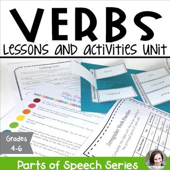 Verbs Unit - Parts of Speech Series