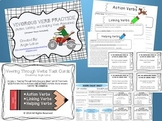 Verb Task Cards and Printables Bundle {Action, Helping, &
