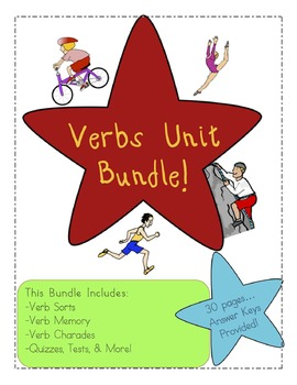 Verbs: Verbs Unit Bundle