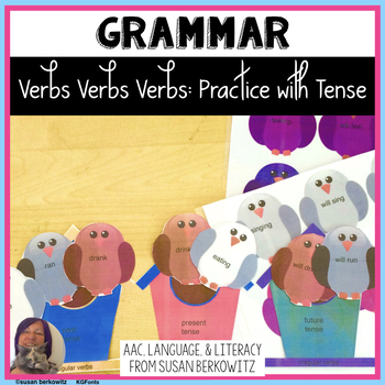 Verbs, Verbs, Verbs; Regular & Irregular Verb Practice; Speech Therapy, ELA