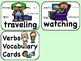 ESL Verbs Vocabulary Words - Translations in Spanish, Chinese, Arabic, Russian