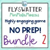 Verbs Vocabulary games BUNDLE Flyswatters Matamoscas SPANISH