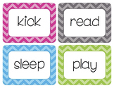 Verbs Word Wall Cards
