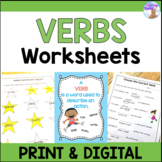 Verbs Worksheets (Distance Learning)