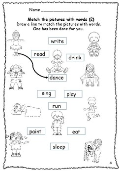 Verbs Worksheets and Games
