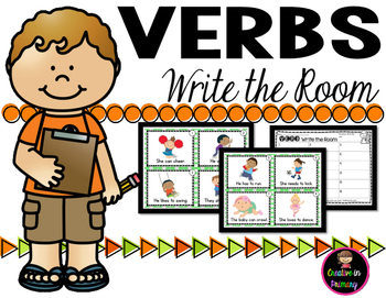 Verbs Write the Room