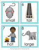 Adjectives Write the Room Activity