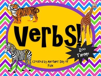 Verbs- Zoo Theme