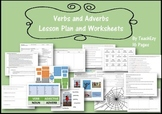 Verbs and Adverbs Lesson Plan and Worksheets