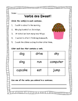 Verbs are Sweet!