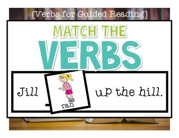 Verbs {for Guided Reading}