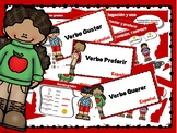 "Verbs ""gustar, querer, preferir"" A1 Spanish"