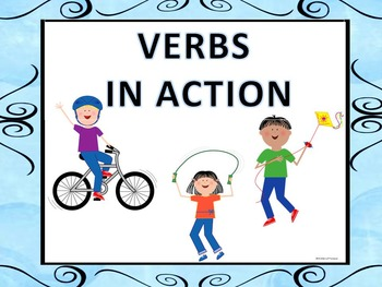 Verbs: Task Cards (Worksheets)