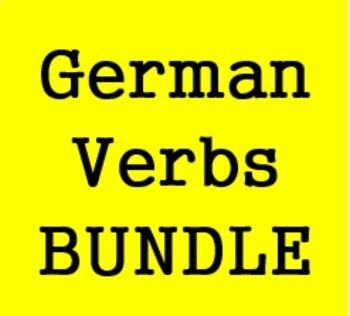 Verben (Verbs in German) Bundle