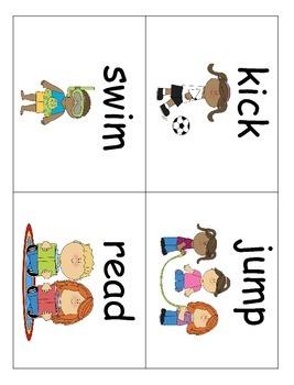 Verbs in Kindergarten!