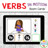Verbs in Motion BOOM Cards Distance Learning