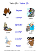 Verbs in Spanish Matching Activities