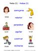 Verbs in Spanish Matching Activities