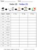 Verbs in Spanish Spelling Worksheets