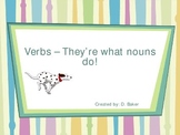 Verbs in action Power Point Presentation
