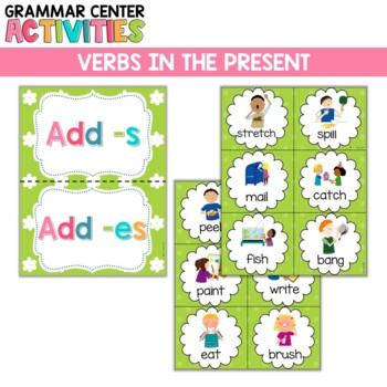 Verbs in the Present: A mini lesson