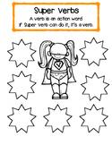 Verbs interactive notebook