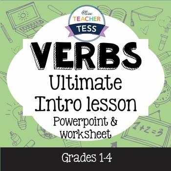 Verbs intro lesson