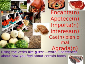 Verbs like Gustar & Indirect Object Pronouns