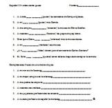 Verbs like gustar Spanish II or Spanish III review