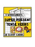Verbs: present tense verbs