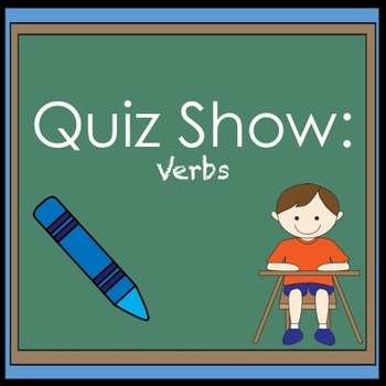 Verbs Jeopardy Review Game
