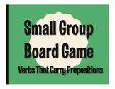 Spanish Verbs that Carry Prepositions Board Game