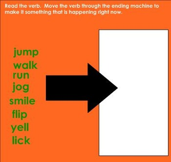 Verbs that add -S (Reading Street Ruby in Her Own Time Grammar) SMARTboard