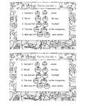 Verbs that do not add -s