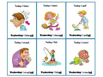 Verbs verbs verbs! Speech and Language BUNDLE!