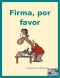 AR verbs in Spanish Verbos AR Firma por favor