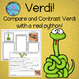 Verdi  Book Companion (Paired Text) Fun ESL Summer Activity!